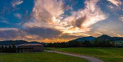 Hörnleberg/Schwarzwald 2018 (karlheinz klingbeil) Tags: hörnleberg südbaden himmel panorama sonnenaufgang berg breisgau schwarzwald wolken badenwürttemberg windenimelztal deutschland de sunrise