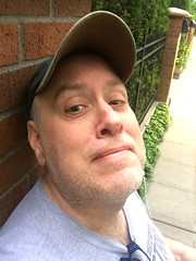 Day 2366: Day 176: Out for a walk (knoopie) Tags: 2018 june iphone picturemail doug knoop knoopie me selfportrait 365days 365daysyear7 year7 365more day2366 day176