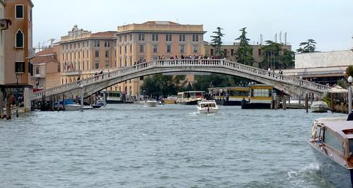 Scalzi Bridge over Grand Canal, Venice, Italy