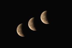 IMG_6375 Eclipse Triple. #InspiraciónBdF70 (Fernando Sa Rapita) Tags: baleares canon eos6d mallorca sarapita tamron tamron150600 cielo eclipse eclipsetotal luna moon night noche sky teleobjetivo inspiraciónbdf70 canoneos