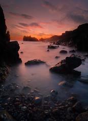 Extraterrestial sunset (PhotoChampions) Tags: landscape landschaft sunset sonnenuntergang lanzarote canaryislands kanarischeinseln spain spainien shoreline seaside küste meer atlanticocean atlantischerozean naturephotography colours mar sunlight