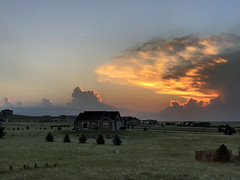 Convective Sunrise (northern_nights) Tags: sunrise thunderstorm redsky firesky sky cheyenne wyoming
