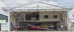 Hangar (Mark A.H.) Tags: hangar airport glider middenzeeland vliegveld ccx aircraft airplane tools building nederland netherlands ehmz zeeuwsevliegdagen plasticbuiten vliegtuig