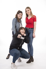 Emma Booth with Maddy and Hannah in the TEDxExeter 2018 Photo Booth (TEDxExeter) Tags: tedxexeter exeter tedx tedtalks ted audience tedxevent speakers talks exeternorthcott northcotttheatre devon crowd inspiring exetercity tedxexeter2017 photoboth photobooth portrait portraitphotography exeterschoolofart england eng