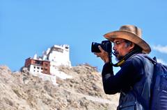 Photographing Namgyal Tsemo Gompa, Leh City (pallab seth) Tags: namgyaltsemogompa leh city ladakh jammuandkashmir gompa monastery buddhist prayer religion buddhism architecture india landscape