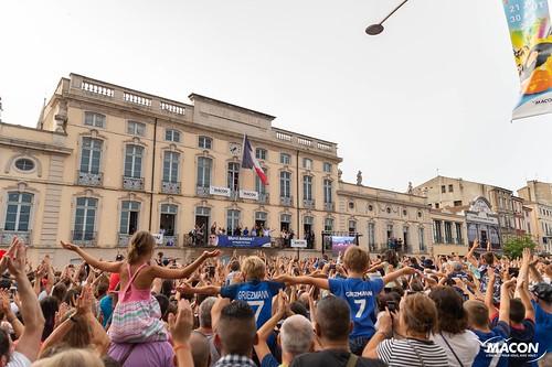 Le retour d'Antoine Griezmann à Mâcon