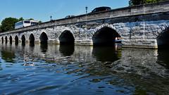 Clopton Bridge (42jph) Tags: nikon d7200 uk england stratforduponavon stratford upon avon warwickshire bridge water river reflection