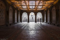 Bethesda terrace, NYC (Dennis van Dijk) Tags: bethesda terrace nyc new york city central park fountain autumn travel cityscape sight sightseeing usa stairs ghost long exposure