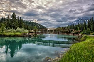 The Bridge Over Cascade Pond
