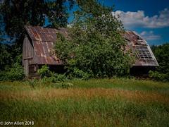 BY YOUR SIDE (John E. Allen) Tags: leicaq johnallen leica historic stanwood rural barns westmichigan michigan