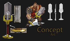 Warrior - Concept Art (Aloe [Alli Keys]) Tags: