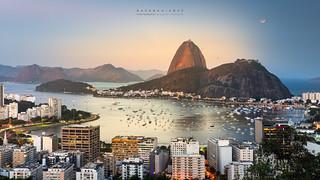 Red Moon @Mirante do Pedrão, Rio de Janeiro, Brazil