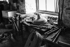 The Big Pit workshop clutter (Rob A Dickinson) Tags: nikon d7100 nikkoe24120mmf4 blackandwhite monochrome coal mine thebigpit national mining museum wales workshop clutter blaenavon