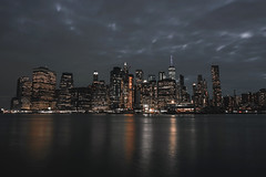 Gotham! (soomness) Tags: gotham newyork newyorkcity newyorker usa unitedstates landscape night nightphotography nightscape water architecture archilovers architect design geometry fujifilmxt2 fujifilm fujinon fuji xt2 xseries xf16mmf14wr travel travelphotography