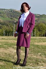 (brigitta.cd) Tags: crossdresser sissy secretary blouse