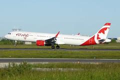 C-FJQH Airbus A321-211SL ACA  YYZ (Jetstar31) Tags: cfjqh airbus a321211sl aca yyz