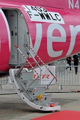 Avions de Transport Régional ATR 42-600 (A380spotter) Tags: passengerdoor pax access integral airstair avionsdetransportrégional atr42 600 fwwlc n405sv ship405 zoë flipflopsoptional silverairways sil 3m staticdisplay fia18 farnboroughinternationalairshow2018 taglondonfarnboroughairport eglf fab