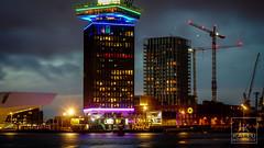 Amsterdam Noord (Kallu Medeiros) Tags: sony nex 5 nex5 amsterdam holland noordholland kallumedeiros industar n61 5228 vintage bynight hetij eyefilmmuseum amsterdamnoord m39nex adapter holanda nederland 52mm28 manualfocuslens