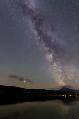 Bala Milky Way (gmorriswk) Tags: milky way mars perseid meteor shooting star bala lake tegid llyn night long exposure landscape snowdonia national park