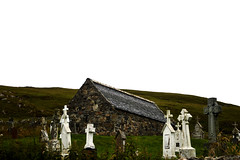 Hebrides 081 (onesecbeforethedub) Tags: vilem flusser technical images onesecbeforetheend onesecbeforethedub hebrides travel travelling traveling abandoned abandon empty spooky haunted scary isle barra graveyard cemetery cemeteries graves grave tomb graveyards church chapel mystery