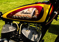 1940 Indian Scout (usa011) Tags: nikond7200 nikon 24mm ais concours motor cycle indian motorcycle