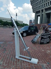 8-7-2018: Say no to drugs and giant needles. Boston, MA