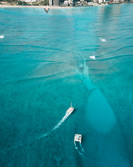 Cruisin (8mr) Tags: hawaii hawaiian oahu honolulu exotic helicopter chopper mountains earth nature ocean pacific waikiki boats