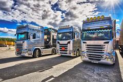 Frakttjänst IX (johan.bergenstrahle) Tags: 2018 evening finepicsse fordon frakttjänst hdr june juni kväll lastbil scania sommar summer sverige sweden truck umeå vehicle