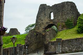 Launcester Castle Main Gate