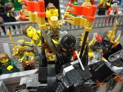 "A Day at the Arena (Nick ""Nightstalker"") Tags: afol lego brickwarriors saberscorpion brickforge brickarms bfva18"