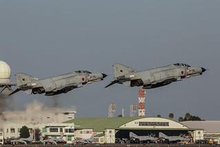 77-8395,  McDonnell Douglas F-4EJ Kai Japan Air Self Defence Forces @ Nyutabaru RJFN