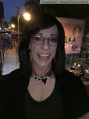 July 2018 - Sparkle weekend in Manchester (Girly Emily) Tags: crossdresser cd tv tvchix tranny trans transvestite transsexual tgirl tgirls convincing feminine girly cute pretty sexy transgender boytogirl mtf maletofemale xdresser gurl glasses dress canalstreet canalst manchester sparkle