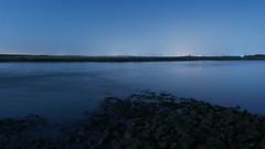 Mysterious Moonlit Waters (essex_mud_explorer) Tags: water lake tidal sea marsh marshes essex moonlit
