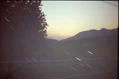 (✞bens▲n) Tags: pentax lx velvia 100f zeiss 35mm f24 flektogon japan gunma landscape sunset mountains sky multiexposure stars 50mm f12 longexposure startrails