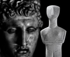 Male-Female Approximation (Phancurio) Tags: hermes cycladic pantheon male female divine monochrome jpeg