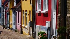 Colours of Denmark (Elenovela) Tags: nykøbingf denmark danmark dänemark skandinavien scandinavia häuser houses colourful farbenprächtig stadt city architektur architecture falster panasonicgh5 leicadg1260mmf2840