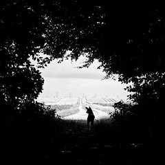 lookout (Andrea Schuh) Tags: blackandwhite