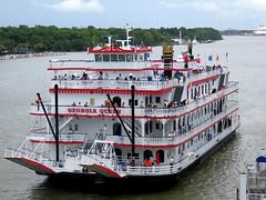 Savannah, Georgia (North Florida Girl) Tags: savannahga georgia thesouth southern savannah riverboat savannahriver georgiaqueen