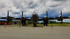 100A9882 (CdnAvSpotter) Tags: fifi b29 superfortress boeing airplane aviation warbird vintage wings gatineau airport cynd ynd canada ottawa commemorative air force caf airpowertour marshallers ground crew bomber