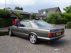MERCEDES-BENZ 500 SEC  SJ-LP-37 1984 / 1997 Brummen (willemalink) Tags: mercedesbenz 500 sec sjlp37 1984 1997 brummen