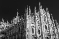 Duomo, Milan Italy (www.alexandremalta.com) Tags: alexandremalta blackandwhite catholic cathedral italy milan duomo