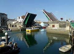 Weymouth Town bridge. (jenichesney57) Tags: