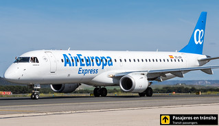 Embraer 195 Air Europa Express EC-LEK