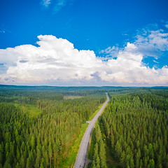 Clouds gathering (miemo) Tags: centralfinland dji europe finland jämsä keskisuomi mavic mavicpro aerial clouds drone forest horizon landscape nature road sky storm summer fi