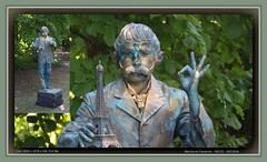 Province du Luxembourg, Marche en Famenne (chatka2004) Tags: statuesenmarche enmarche provinceduluxembourg rassemblementdestatuesvivantes marcheenfamenne statues gustaveeiffel