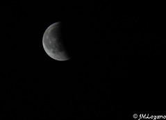 Eclipse (josmanmelilla) Tags: luna nocturna noche eclipse cielo pwmelilla flickphotowalk pwdmelilla pwdemelilla melilla españa
