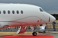 Dassault Aviation SA 'Falcon 900LX' (A380spotter) Tags: undercarriage landinggear nosegear dassaultaviationsa mystèrefalcon900lx 900lx fhdor dassaultfalconservice dso demonstrator staticdisplay fia18 farnboroughinternationalairshow2018 taglondonfarnboroughairport eglf fab