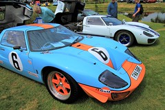 2006 GTD SUPERCARS GT40 Replica FMA 518F, 1997 GTD SUPERCARS GT40 Replica LLJ 121F (BIKEPILOT, Thx for + 4,000,000 views) Tags: classicsattheclubhousesandfordspringshotelgolfclub kingsclere hampshire uk england britain car sportscar racing gt40 ford 1997 gtdsupercarsgt40 replica llj121f 2006 fma518f 2016 hop130 blue vehicle automobile transport classic