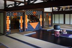 Tojiin temple, Kyoto (Christian Kaden) Tags: architecture architektur japan kansai kioto kyoto tatami tatamiborte tempel temple tojiin edgeofatatami お寺 たたみ たたみべり 京都 仏教 仏閣 建築 建築術 日本 畳 畳縁 等持院 関西