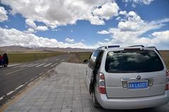 Landscape near Lake Namtso, Tibet (5) (Prof. Mortel) Tags: tibet lake namtso
